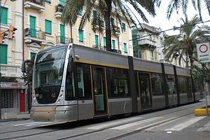 Trams in Messina - Tram no 06T in Messina.