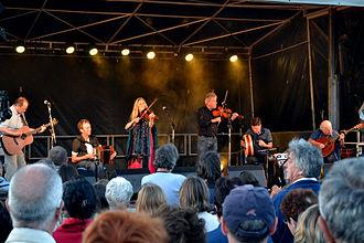 Altan (band) - Altan in concert in Plouescat, France in 2013