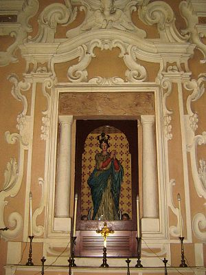 Marittima - Image: Altare Immacolata Marittima