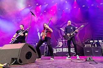 Alter Bridge - Alter Bridge released its fifth album The Last Hero in October 2016.