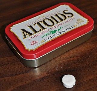 Altoids Brand of breath mints