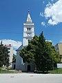 Altreformierte Kirche, Fassade, 2021 Hódmezővásárhely.jpg