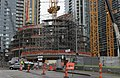 Amazon Spheres under construction, January 2016 (24655757686).jpg