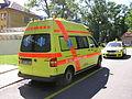 Ambulance vehicle Zdravotnická záchranná služba Olomouckého kraje.JPG