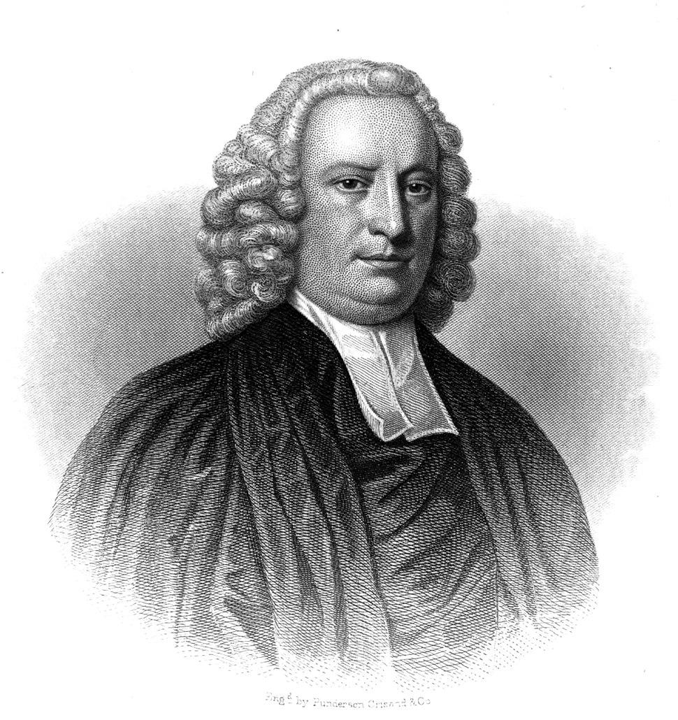 American Dr. Samuel Johnson President of King%27s College by Smibert c. 1730