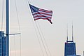 American Flag Waving on a Boat in Chicago (16454103063).jpg