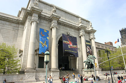 The American Museum of Natural History in New York City American Museum of Natural History New York City.jpg