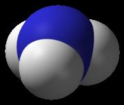 3D-Modell von Ammoniak