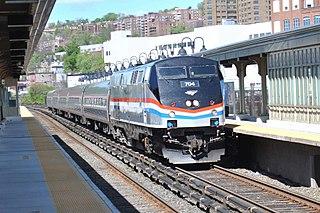 Electro-diesel locomotive Railway locomotive capable of running either under electrical or diesel power