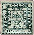 An 1863 stamp of Bolivar.jpg