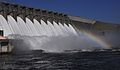 An image of the Hartwell Dam in Hartwell, Ga., Jan. 15, 2010. (U.S. Army photo by Billy Birdwell-Released 100115-A-JH002-001.jpg