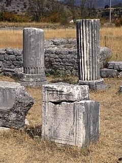 archaeologic site in Montenegro