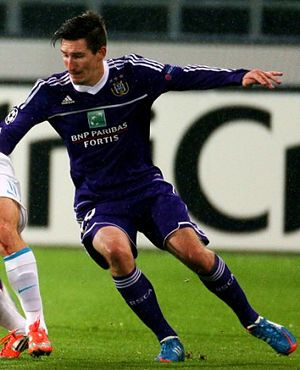 Sacha Kljestan - Kljestan against Zenit.