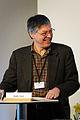 Andre Sapir fran fran Universite Libre i Bryssel talar vid globaliseringsmotet i Riksgransen 2008-04-09.jpg