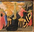 Andrea di giusto, adorazione dei magi e santi, da s. andrea a ripalta, 1436, 04 condanna e crocifissione di s. andrea 2.jpg