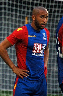 Townsend in 2016 namens Crystal Palace
