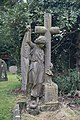 Angel by the cross - geograph.org.uk - 1715982.jpg