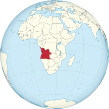 Angola on the globe (Zambia centered).svg