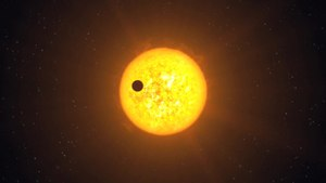 Tiedosto:Animation of the transiting exoplanet Corot-9b.ogv