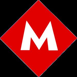 İsmet İnönü Boulevard (Ankara) - Image: Ankara Metro Logo