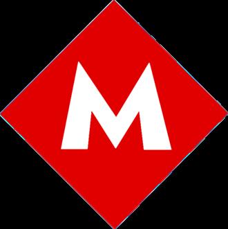 Yenişehir railway station - Image: Ankara Metro Logo