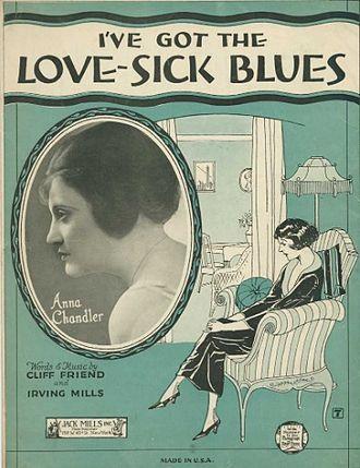 Lovesick Blues - Image: Anna Chandler Lovesick Blues