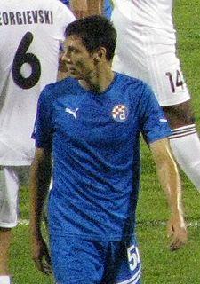 Ante Rukavina Croatian footballer