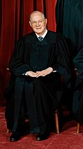 Justice Kennedy wrote the majority opinion in Velazquez.