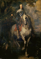 Equestrian portrait of Charles I of England