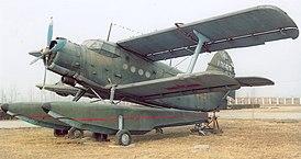 Ан-4 в Китайском музее авиации