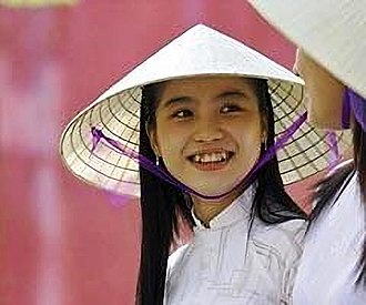 Asian conical hat - Vietnamese style conical hat, nón lá