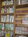 Aokomoriuta's bookshelves with books and mangas 20090215.jpg