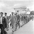 Arabische deelnemers aan een 1 mei demonstratie (Dag van de Arbeid), Bestanddeelnr 255-0166.jpg