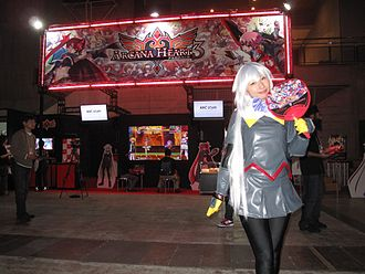 Arcana Heart - Promotion at the TGS 2010
