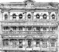 Architectural drawing of the facade of Theatre Royal Brisbane, 1891.tif