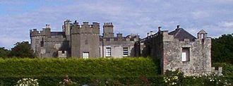 Ardgillan Castle - View of Ardgillan Castle from the gardens