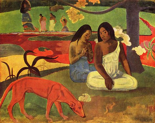Arearea, by Paul Gauguin