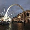 Arena di Verona, la stella di Natale.jpg