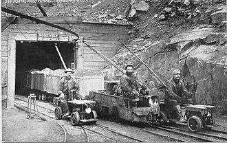 Argo Tunnel - Argo Tunnel, early 20th century
