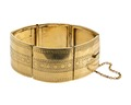 Armband av guld, 1864 - Hallwylska museet - 110132.tif