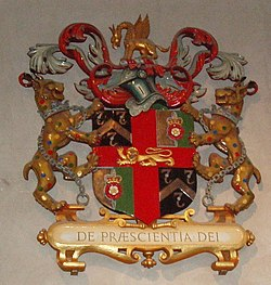 Arms of the Barbers in St Giles Cripplegate - geograph.org.uk - 1411455.jpg