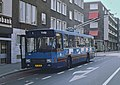 Arnhem Den Oudsten trolleybus 141 across from railway station, 1983.jpg