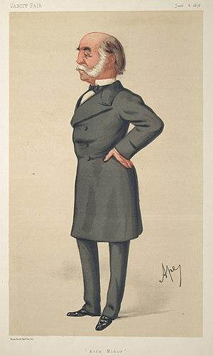 Arnold Burrowes Kemball - Vanity Fair caricature of 1878