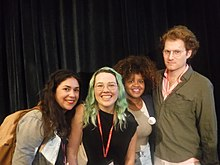 Art+Feminism speakers Wikimania 2017.jpg