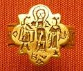 Arte bizantina, anello matrimoniale, da girgenti, 6-7mo secolo.JPG