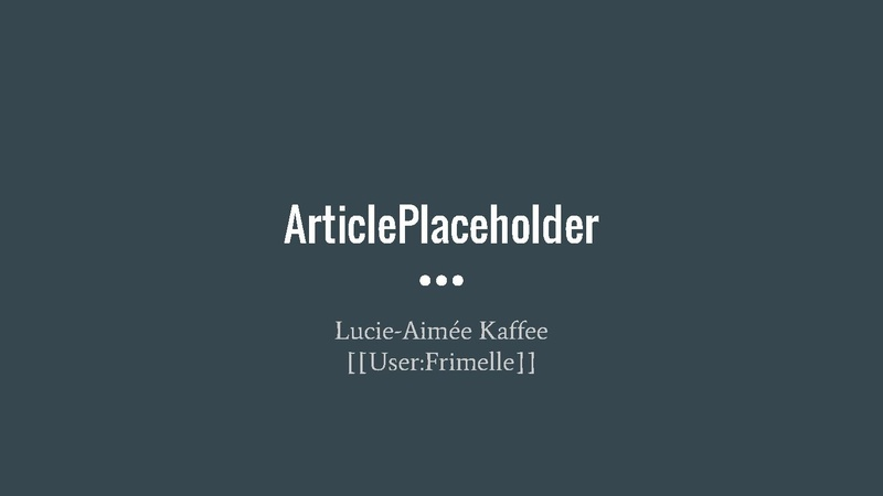File:ArticlePlaceholder wmhack 2016.pdf
