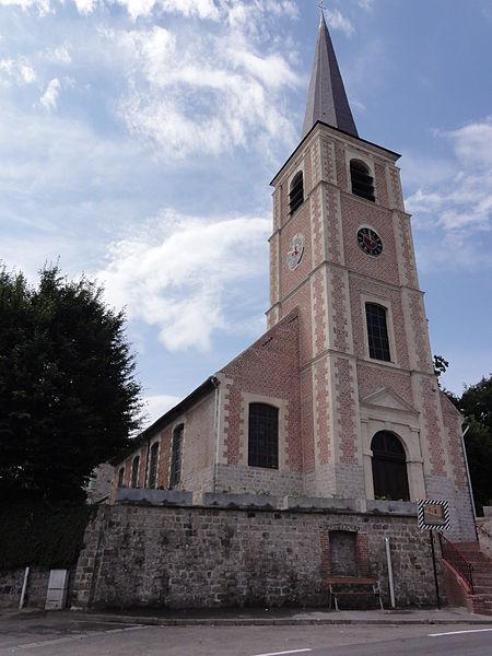 Artres (Nord,Fr) église