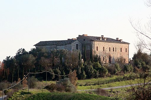 San Cristoforo a Rofeno (Badia a Rofeno), Asciano