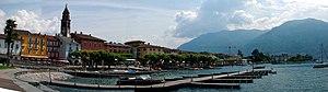 Panorama von Ascona, Schweiz