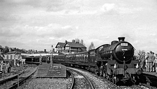 Ashbourne railway station Former railway station in Derbyshire, England